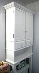 white bathroom storage cabinets. White Over The Toilet Cabinets Artistic Storage You Ll Love Of Bathroom