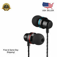 qijiagu200pcs super bass earphone 3 5mm inear sport running for stereo wired headset with mic volume control for mobile computer