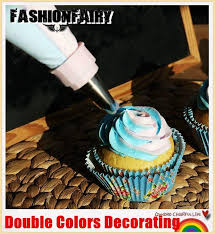 Cake Decorating Accessories Wholesale Wholesale 10000 In 100 Double Colors Piping Bags Icing Pastry Bags Cake 56