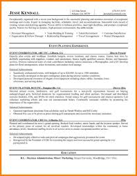 6 Event Planner Resume Nypd Public Information Specialist Cover