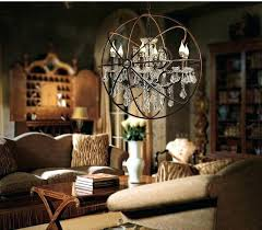 crystal orb chandelier and with crystals floor lamp for crystal orb chandelier