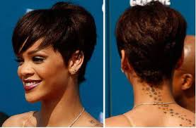 tremendous short colored haircut for thick hair african american