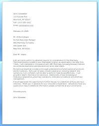Pharmacist Cover Letter Examples Cover Letter Pharmacist Sample