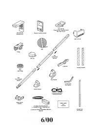 Garage Door genie garage door manual pictures : Geniee Door Opener Parts Manual List Or Openergenie Onlinegenie ...