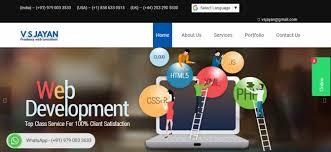 Website Design Price In Chennai Website Design Services Chennai Vs Jayan