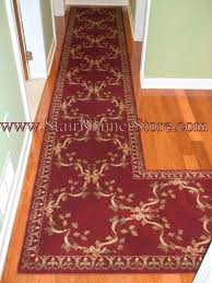 l shaped rug hallway runner installations eclectic hall octagon shaped rugs