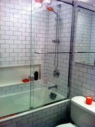 modern bathroom subway tile. Black And White Subway Tile Bathroom Modern-bathroom Modern I