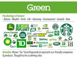 Green logos: