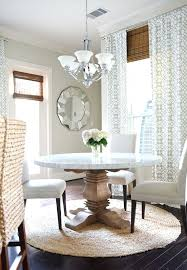 rug under round dining room table dining room marble top table chairs ds round rug round