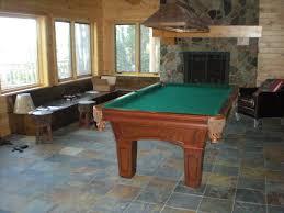 basement pool table. Brilliant Basement Basement Pool Table Room With Fireplace With Basement Pool Table