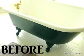 clawfoot tub caddy bathtub painting a claw foot tub ever wondered how to paint your claw