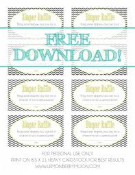 Template Raffle Tickets Free Download 28 Unique Free Diaper Raffle Ticket Template