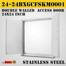double walled access bbq door 24x24 kitchen 304 steel cooking modern frame