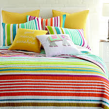 Multi Bedding   Decor by Color & Riley Bright Quilt Set Adamdwight.com