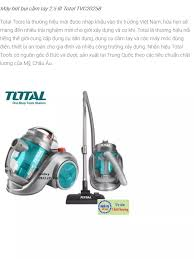 ⭐Máy hút bụi cầm tay 2.5 lít Total TVC20258: Mua bán trực tuyến Máy hút bụi  có túi với giá rẻ