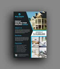 036 Stylish Real Estate Flyer Template 4fit15002c1730ssl1