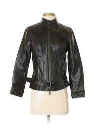 pin it express women faux leather jacket size s
