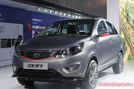 new launched car zestTata Showcases ZEST Compact SUV  BOLT Hatch Pics  Details