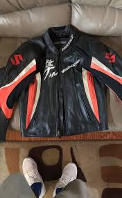 suzuki hayabusa leather jacket by agv sport gsx1300 for in inglewood ca offerup