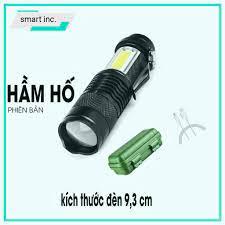 Đèn Pin Cầm Tay Mini Siêu Sáng Chuyên Dụng Đi Chơi Đi Phượt Du Lịch Đèn  Bóng Led Có Zoom Phóng To Chống Nước Sạc USB - Đèn pin Nhãn hàng No