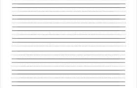 Kindergarten Lined Paper Template Lined Writing Paper For Kindergarten Fresh Lined Template
