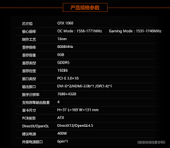 Gigabyte Gtx 1060 Ixoc Mini 6g Gtx1060 Graphics Card Graphic Card