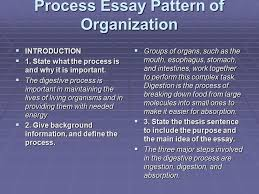 the process essay ppt video online  process essay pattern of organization