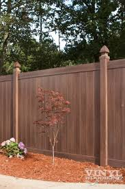 brown vinyl fence. Dark Brown Vinyl Privacy Fence | Trex Fencing Cost Ma Composite New House Pinterest Fencing, G