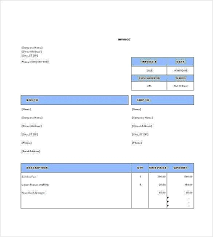 Template For Invoice Free Download Mesmerizing Responsive Html Invoice Template Invoice Template For Free Download
