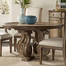 solana wood round pedestal dining table
