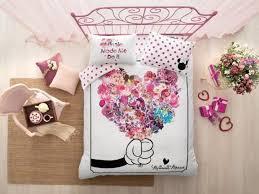 Детское <b>постельное белье MINNIE</b> FLOWERS BY DISNEY евро ...