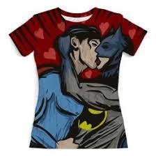 """Женские футболки c красивыми принтами """"superman"""" - <b>Printio</b>"""