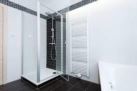 frameless glass shower door installation how to install on tile homeadvisor