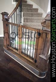 Custom baby gate. Houston Stair Parts - this guy has amazing reviews ...
