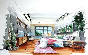 Bedroom Design Sketch Interior Design Bedroom Drawings With Bedroom Hand  Draw Interior Design Interior Design Bedroom