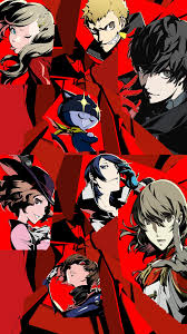 No matter who you pick, we're sure your phone will be. I Made An All Out Wallpaper For Iphones How Is It Persona5