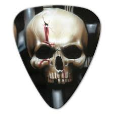 Unlimited Edition - Bio-<b>Mechanical Skull</b> Picks (10 pack) - Custom ...