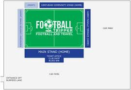 Deva Stadium Chester City F C Football Tripper