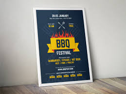 Bbq Poster Bbq Poster Vol 2 By Everydaytemplate Dribbble Dribbble