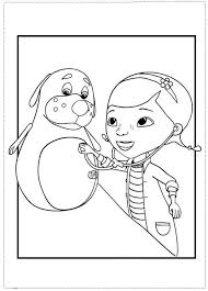 Doc Mcstuffins Coloring Pages Printable For Boys Halloween Pin By 53