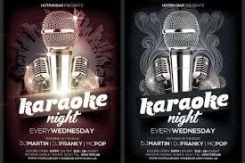 Karaoke Night Flyer Template Karaoke Night Flyer Template Is Very Modern Psd Photoshop Flyer 4