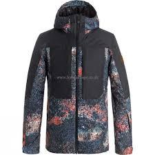 kids winter clothing quiksilver boys tr ambition snow jacket marine iguana real kid s ski snowboard jackets 424317583