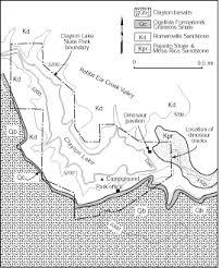 Geologic Tour Clayton Lake State Park