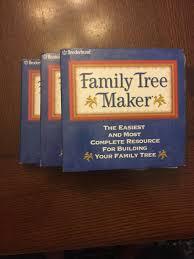 Broderbund Family Tree Maker Version 8 Gift Set 35 Cd Set Windows 95 98