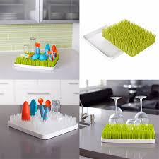 boon lawn countertop drying rack bpa pvc phtalates free for drying bottles and