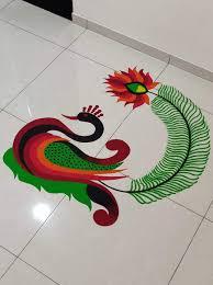 Rangoli Art Designs For Diwali Rangoli Colorful Rangoli Designs Rangoli Designs Flower