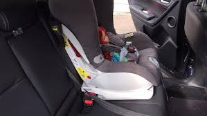 isofix restraints provide a firmer hold compared to seatbelt restrained car seats