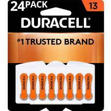 Duracell Battery Sizes Chart Duracell Hearing Aid Batteries With Easy Fit Tab Size 13 24