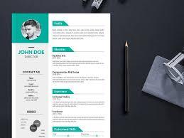 Modern Resume For Instructors Free Creative Editable Resume Template For Job Seeker