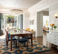 beautiful dining room rug transitional dining room by architects rug under dining room table yes or